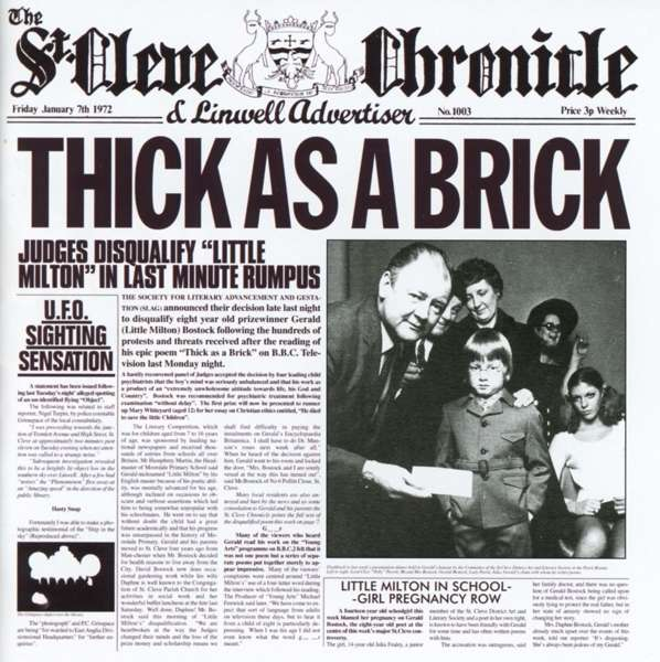 THICK AS A BRICK (REMASTER)