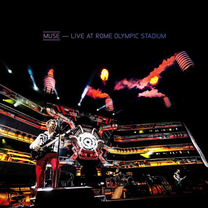 LIVE AT ROME OLYMPIC STADIUM - CD+BLUE RAY