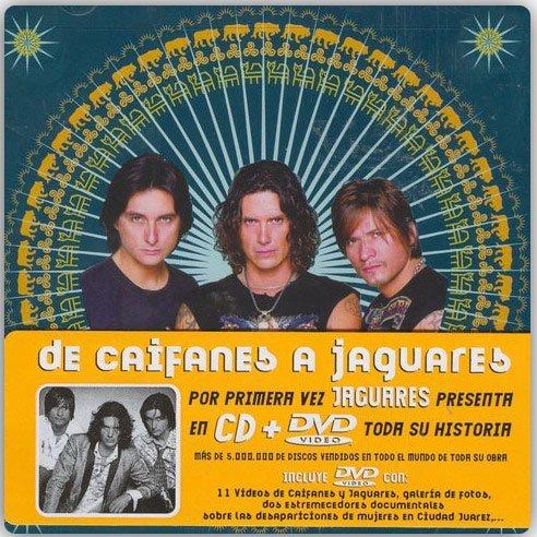 DE CAIFANES A JAGUARES -CD + DVD-