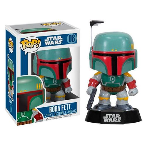FIGURA POP STAR WARS -BOBA FETT-