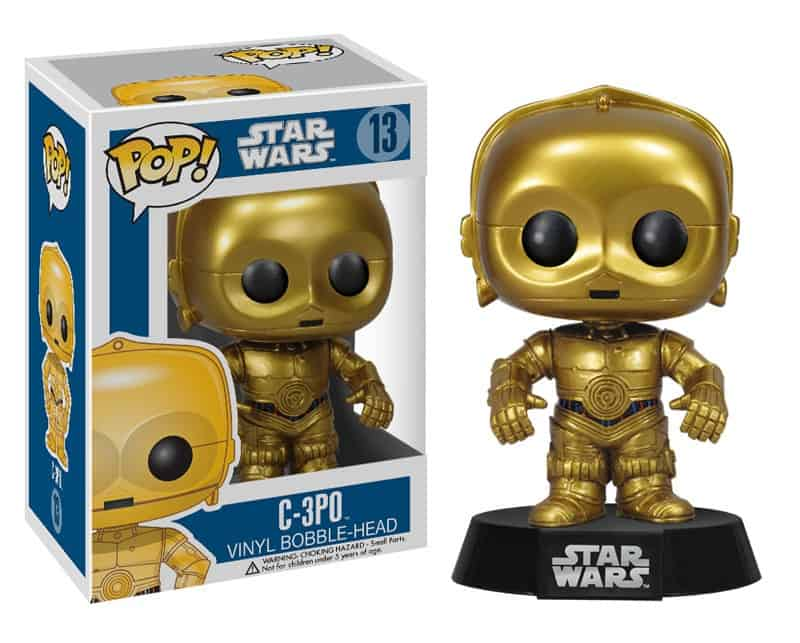 FIGURA POP STAR WARS -C 3PO 13-
