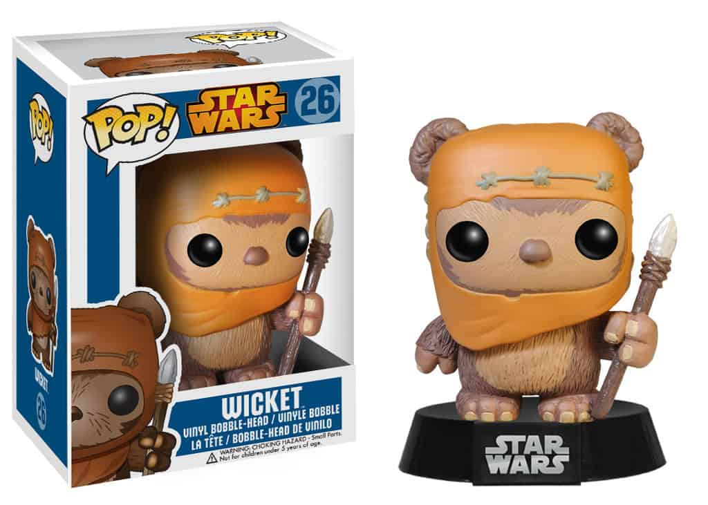 FIGURA POP STAR WARS -WICKET 26-