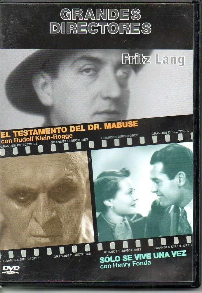 EL TESTAMENTO DEL DR MABUSE / SOLO SE VIVE UNA VEZ