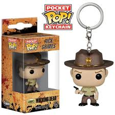 LLAVERO POP -WALKING DEAD RICK GRIMES-