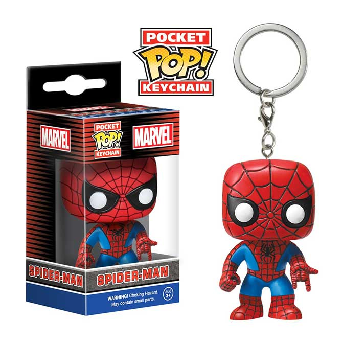 LLAVERO POP -SPIDER MAN-