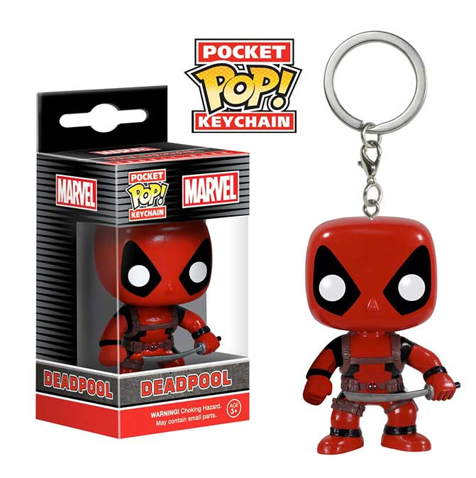 LLAVERO POP -DEADPOOL-