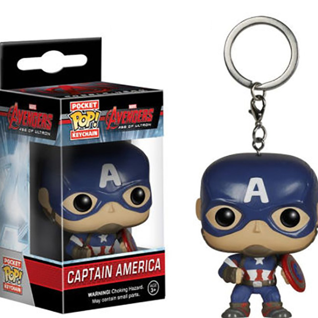 LLAVERO POP -CAPTAIN AMERICA-
