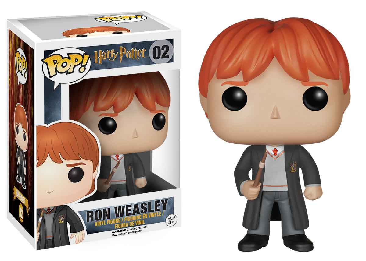FIGURA POP HARRY POTTER -RON WEASLEY 02-