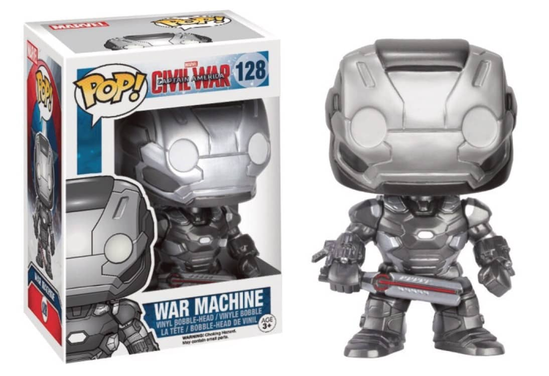 FIGURA POP CAPITAN AMERICA CIVIL WAR -WAR MACHINE-