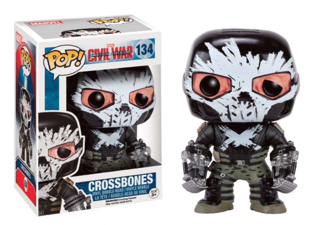 FIGURA POP CAPITAN AMERICA CIVIL WAR -CROSSBONES-