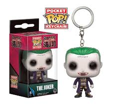 LLAVERO POP SUICIDE SQUAD -THE JOKER-
