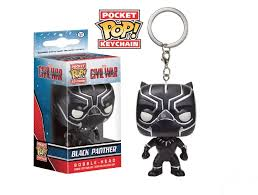 LLAVERO POP BLACK PANTHER