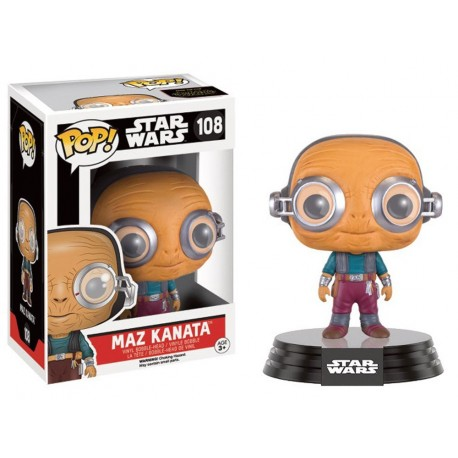 FIGURAS POP STAR WARS -MAZ KATANA 108-