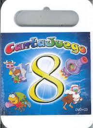 CANTAJUEGOS VOL 8 -CD + DVD-