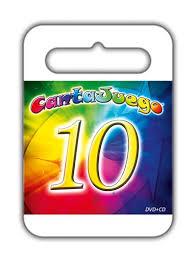 CANTAJUEGOS 10 -CD + DVD-