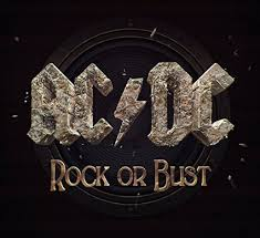 ROCK OR BUST -LENTICULAR COVER-