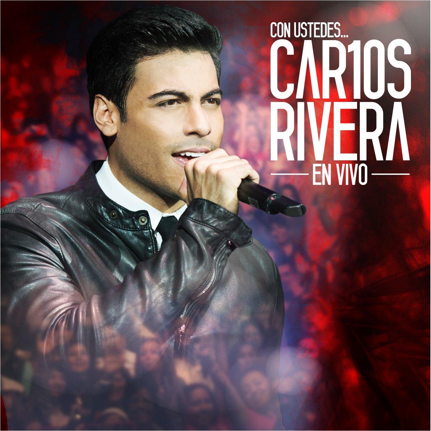 CON USTEDES...  CAR10S RIVERA EN VIVO (CD+DVD)