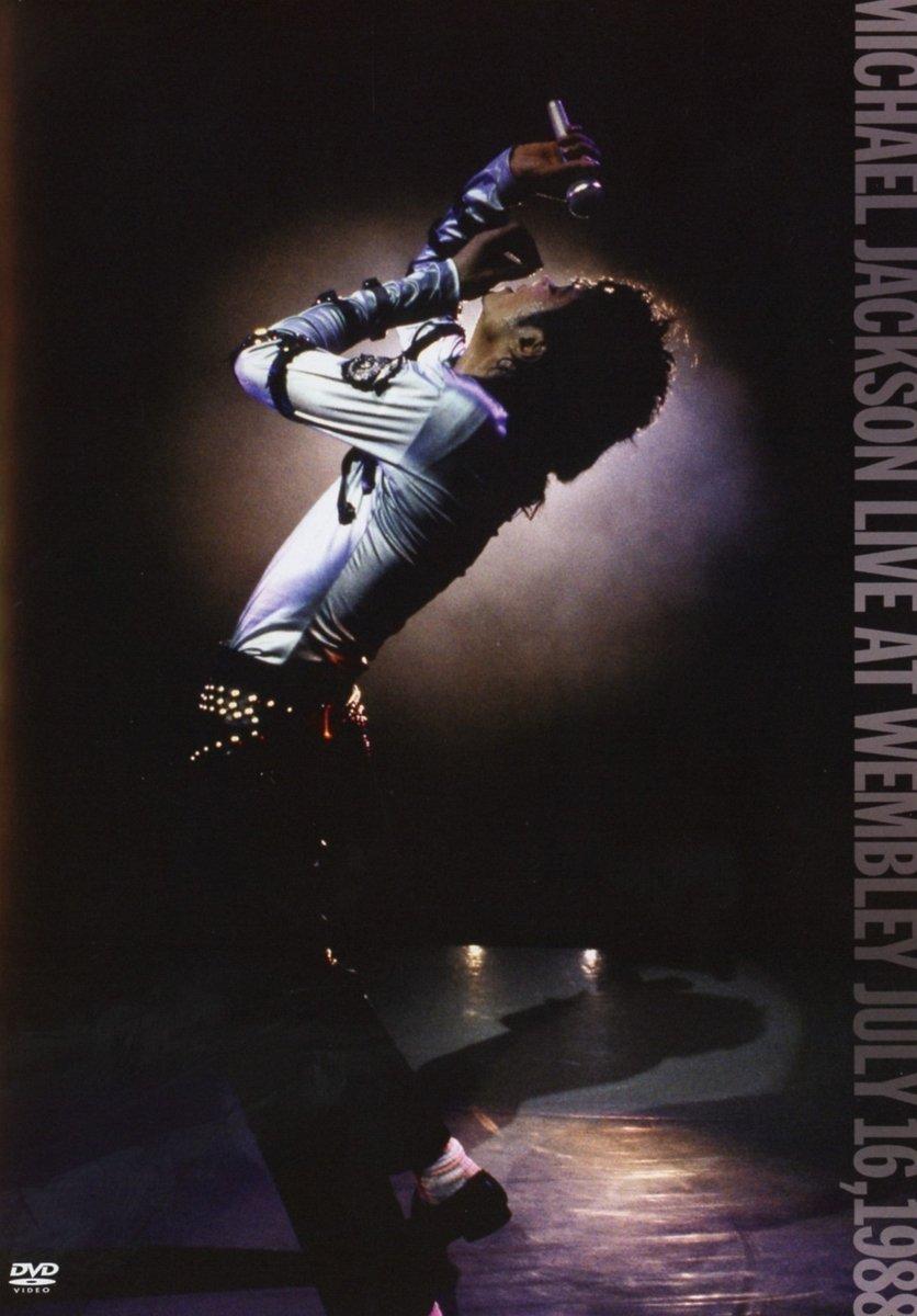 MICHAEL JACKSON LIVE AT WEMBLEY JULY 16, 1988. INTERNATIONAL AMARAY (DVD) - SECOND LIFE VERSION
