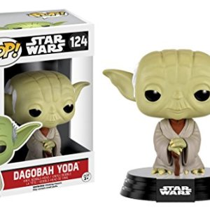 FIGURA POP STAR WARS -YODA DAGOBAH 124-