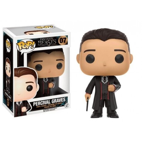 FIGURA POP FANTASTIC BEASTS -PERCIVAL GRAVES-