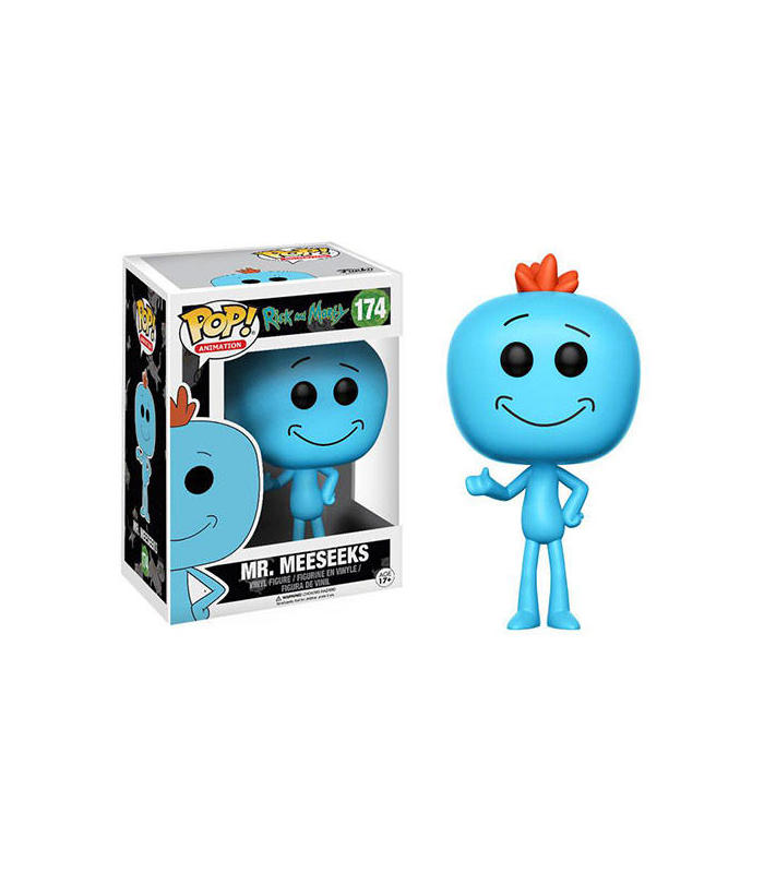 FIGURA POP RICK & MORTY -MR MEESEEKS 174-