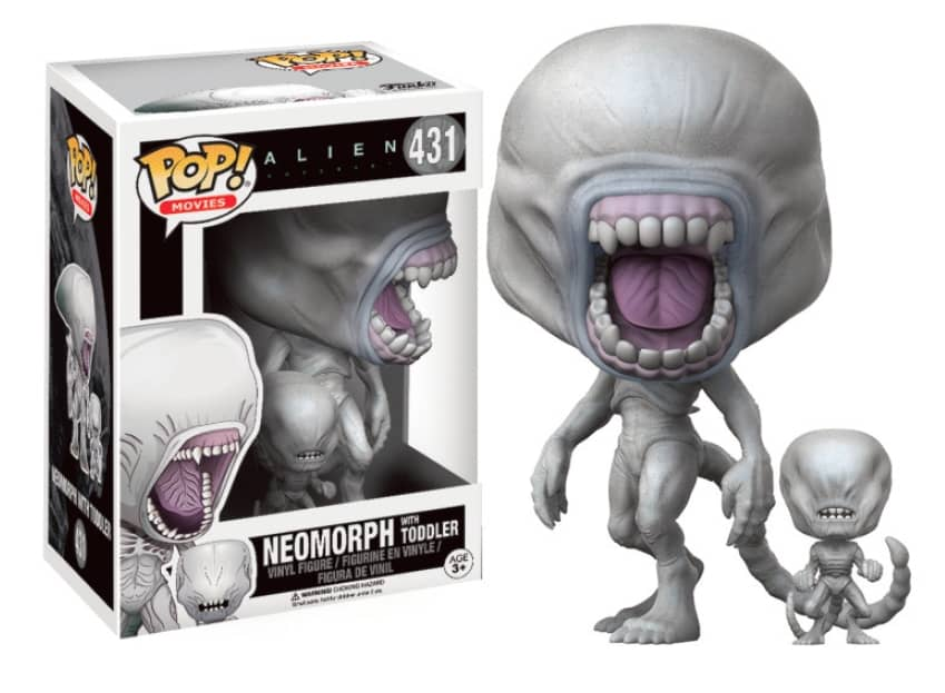 FIGURA POP ALIEN -NEOMORPH WITH TODDLER 431-