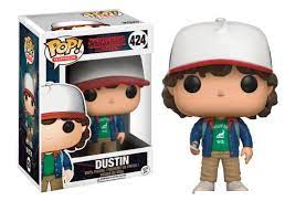 FIGURA POP STRANGER THINGS -DUSTIN 424-