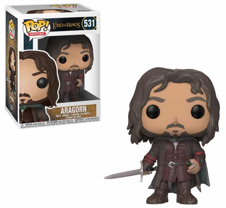 FIGURAS POP LORD OF THE RINGS -ARAGON 531-