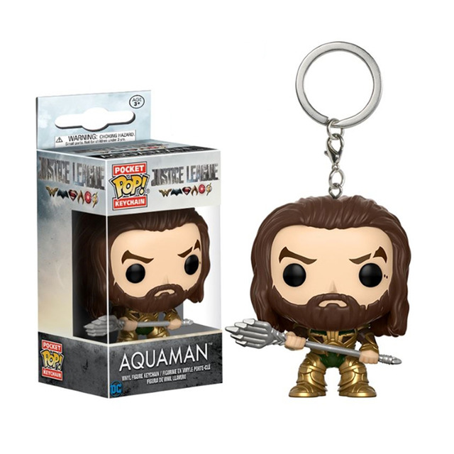 LLAVERO POP JUSTIVE LEAGUE -AQUAMAN-