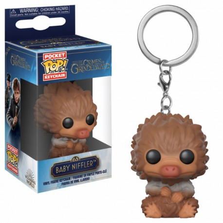 LLAVERO POP CRIMES OF GRINDELWALD -BABY NIFFLER-