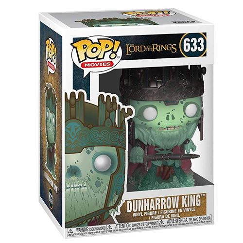 FIGURA POP LORD OF THE RINGS -DUNHARROW KING 633-