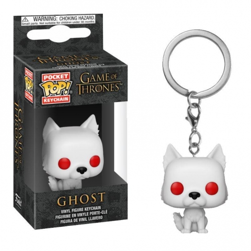 LLAVERO POP GAME OF THE THRONES -GHOST-