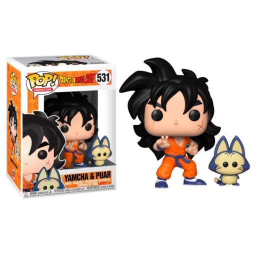 FIGURA POP DRAGON BALL Z -YAMCHA & PUAR 531-