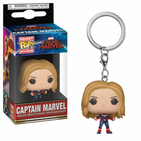 LLAVERO POP CAPTAIN MARVEL