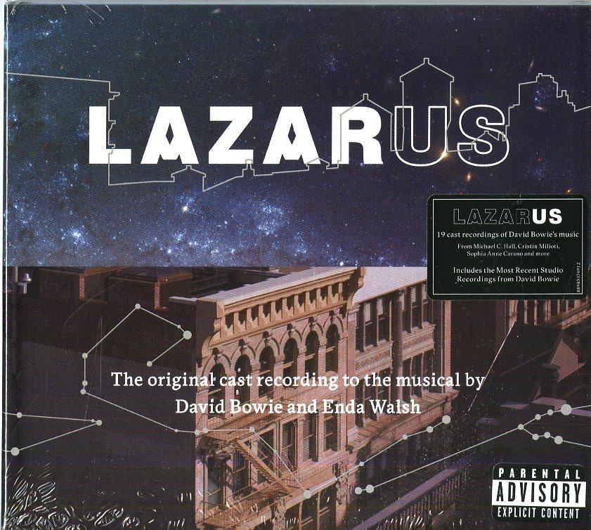 LAZARUS (ORIGINAL CAST RECORDING). CD