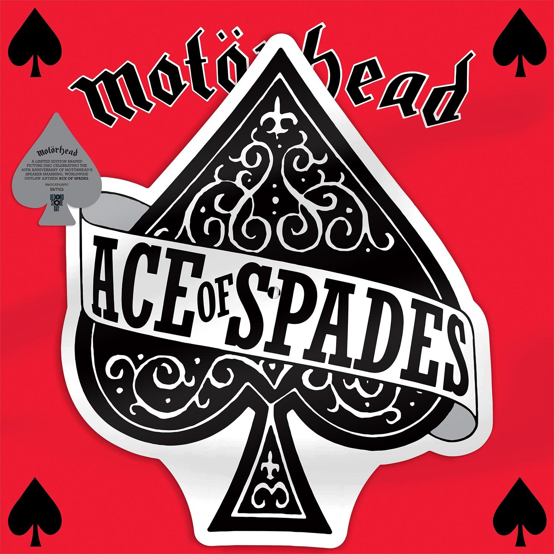 ACE OF SPADES -VINILO SHAPED 40TH ANNIVERSARY RSD 2020-
