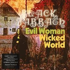 EVIL WOMAN / WICKED WORLD -VINILO 7´´ PICTURE RSD 2020-