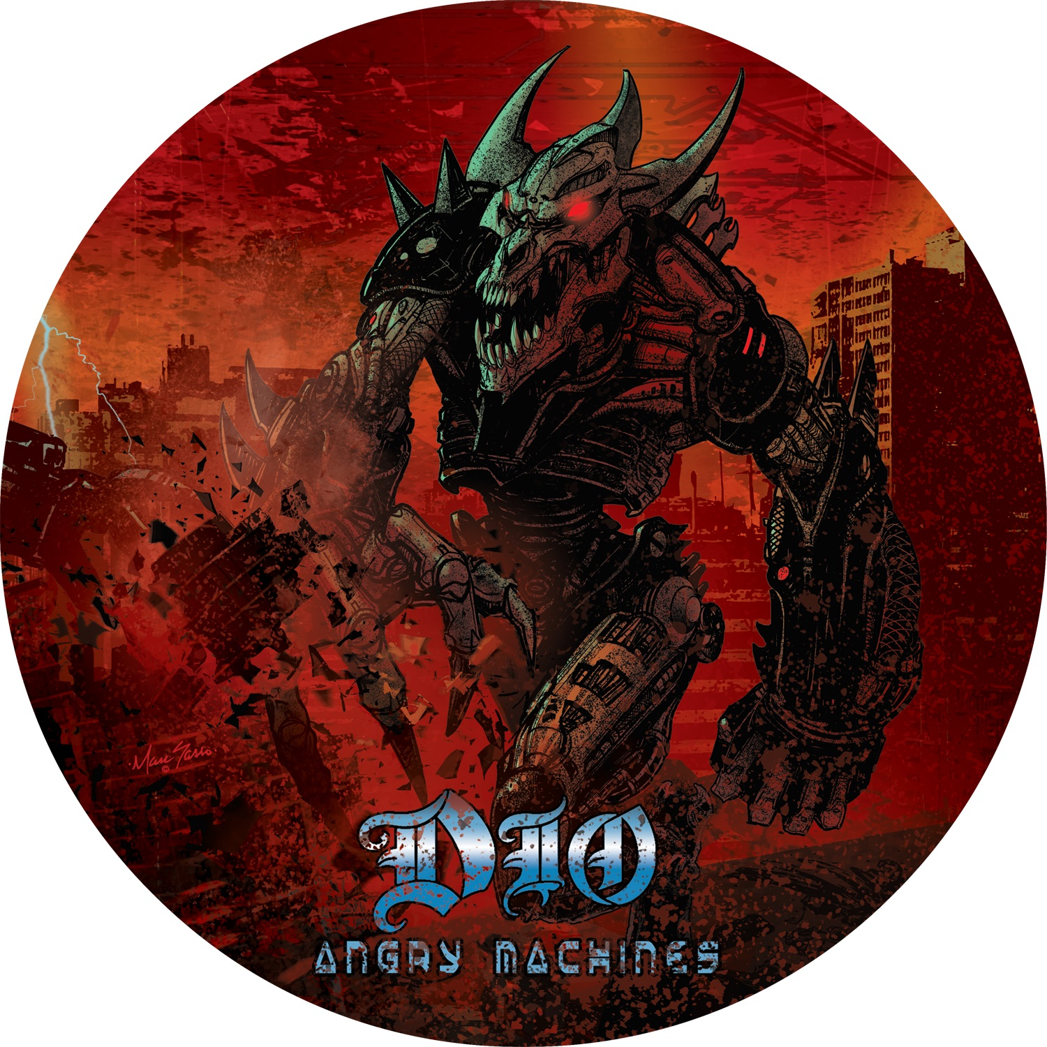 ANGRY MACHINES -VINILO PICTURE RSD 2021-