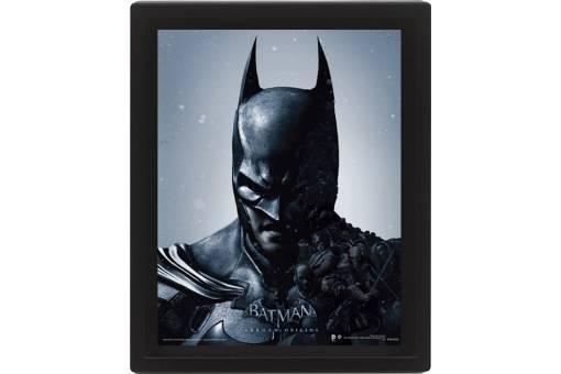 CUADRO 3D BATMAN ARKHAN ORIGINS