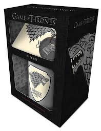 CAJA REGALO GAME OF THRONES -MUG COASTER & KAYCHAIN-