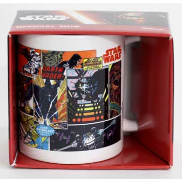 TAZA STAR WARS COMIC