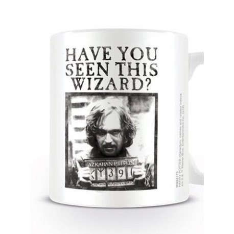 TAZA HARRY POTTER -HAVE YOU SEEN THIS WIZARD-