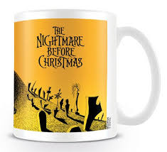 TAZA THE NIGHTMARE BEFORE CHRISTMAS GRAVEYARD
