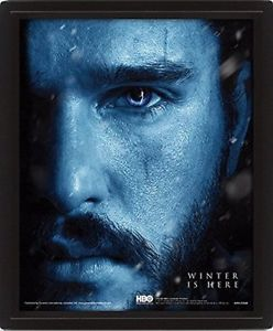 CUADRO 3D GAME OF THE THRONES -WINTER IS HERE-
