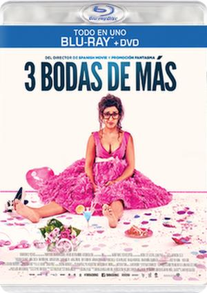3 BODAS DE MAS -COMBO BR + DVD-