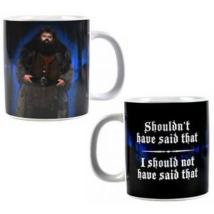 TAZA GRANDE HARRY POTTER -HAGRID-