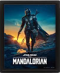 CUADRO 3D THE MANDALORIAN NIGHTFALL