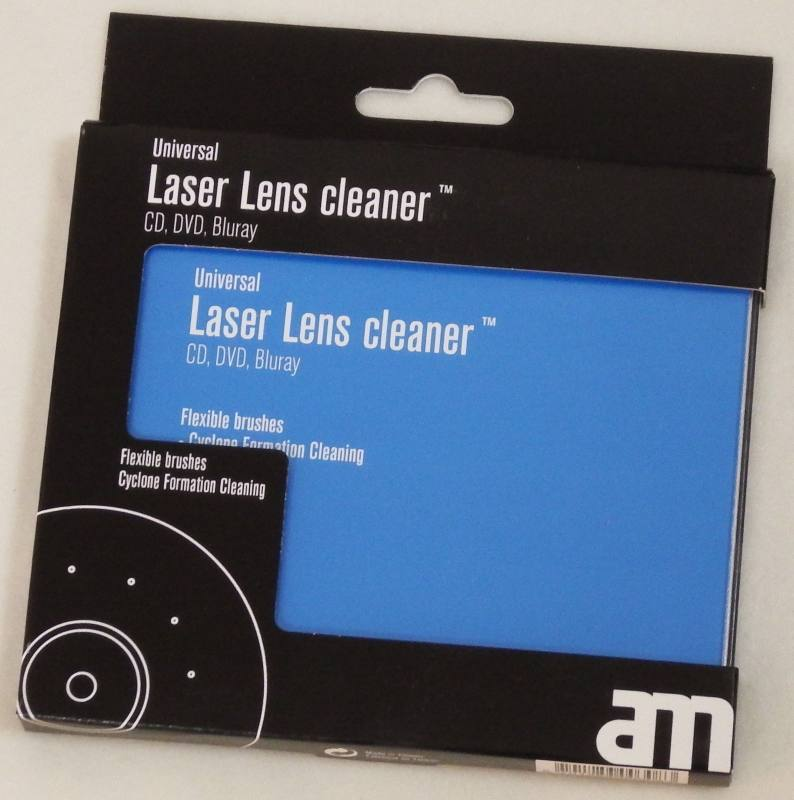 LASER LENS CLEANER -CD DVD BR-