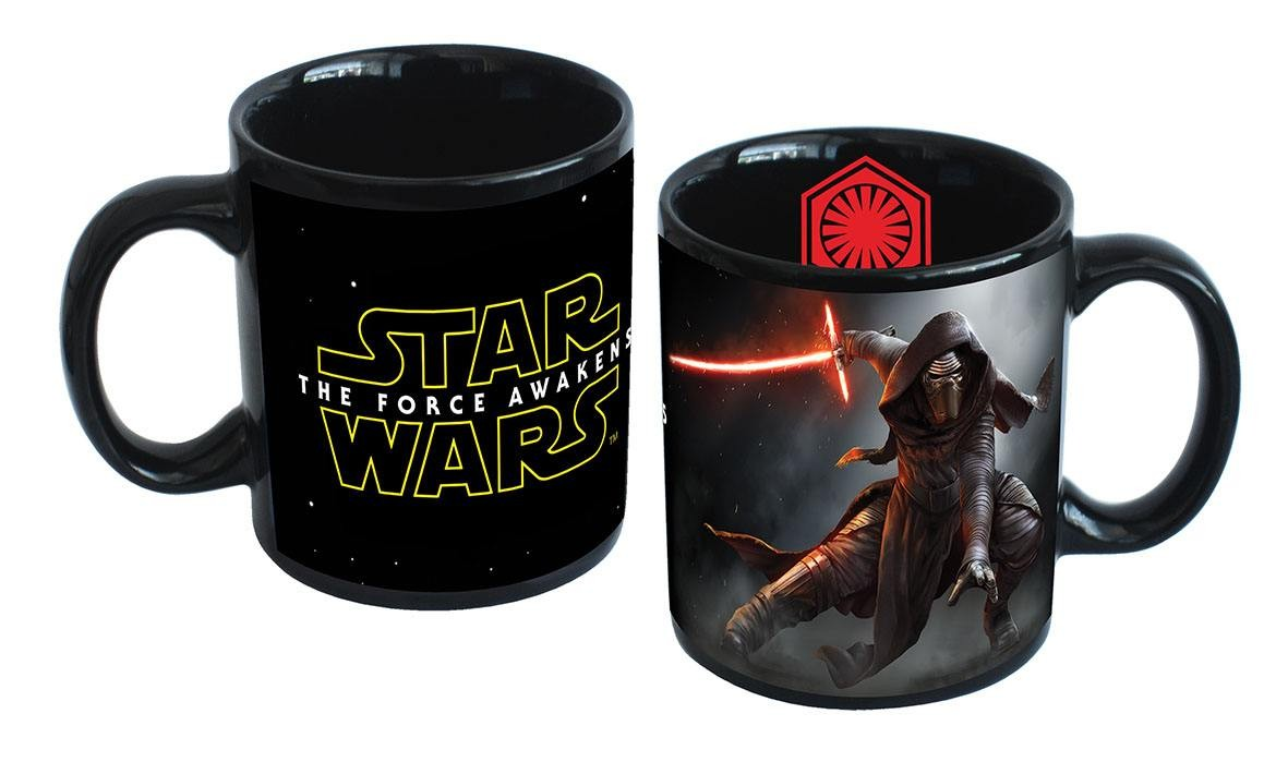 TAZA STAR WARS KYLO