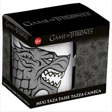 TAZA GAME OF THRONES STARK